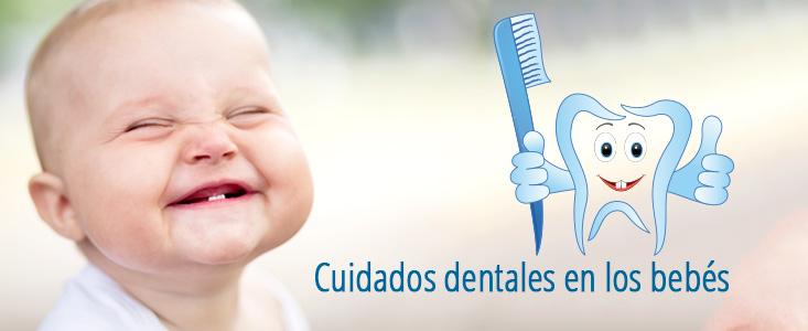Cuidados dentales en los bebésCuidados dentales en los bebés