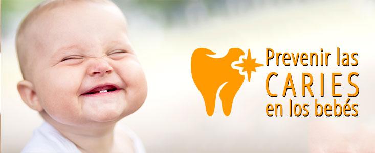 Como prevenir las caries en los bebés